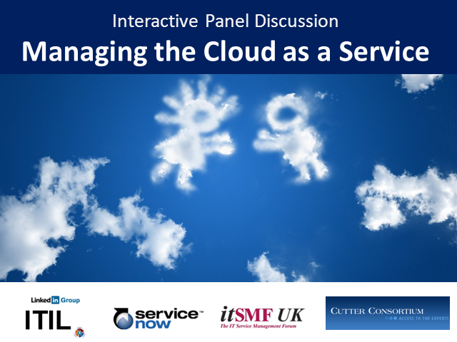Managing the Cloud as a Service