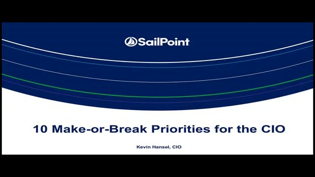 2019 Make-or-Break CIO Priority List