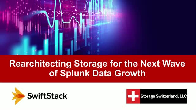 Rearchitecting Storage for the Next Wave of Splunk Data Growth