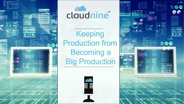 Keeping Production from Becoming a Big Production