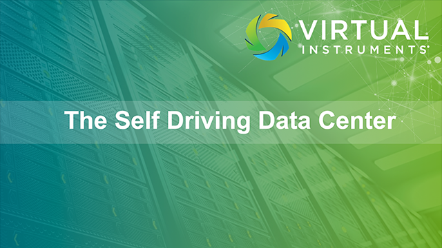 The Self-Driving Data Center