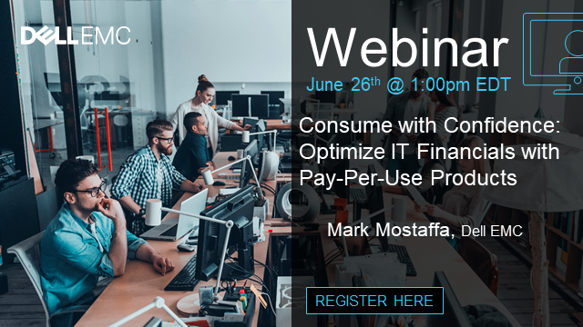 Consume with Confidence: Optimize IT Financials with Pay-Per-Use Products