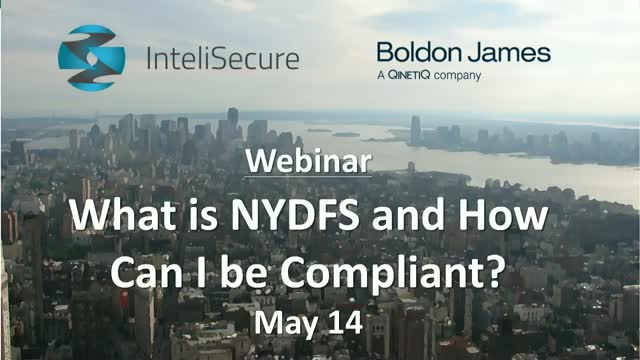 What is NYDFS and How Can I Be Compliant?