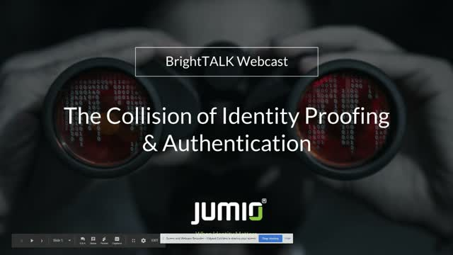 The Collision of Identity Proofing and Authentication