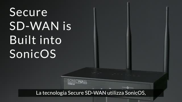 SonicWall Secure SD-WAN e Zero-Touch Deployment
