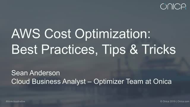Mastering AWS Cost Optimization: Best Practices, Tips & Tricks