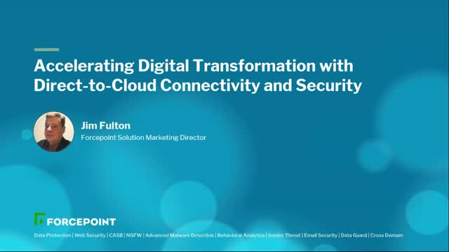 Accelerating Digital Transformation with Direct-to-Cloud Connectivity & Security