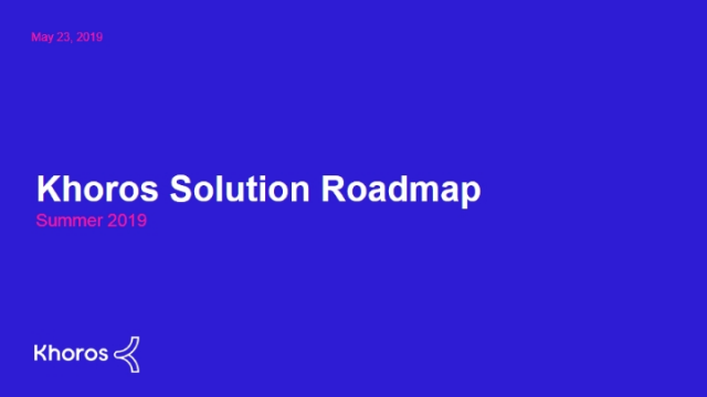 Khoros Roadmap Webinar