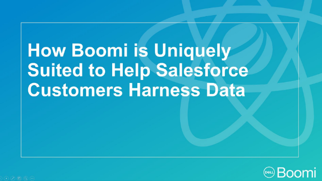 How Boomi is Uniquely Suited to Help Salesforce Customers Harness Data