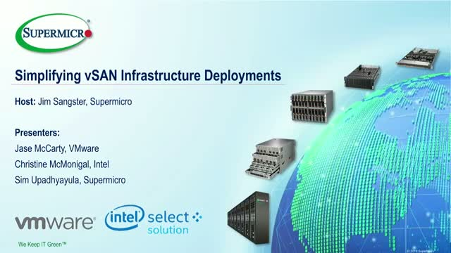 Simplifying vSAN Infrastructure Deployments
