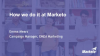 Marketo Best Practices - How the Marketo team uses Marketo