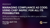 Managing Compliance as Code