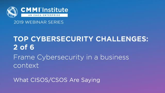 Challenge 2: Frame Cybersecurity in a Business Context