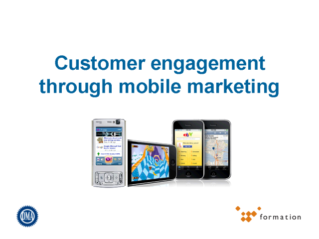 Engagement through Mobile Marketing