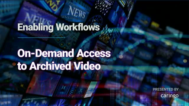 Demonstration of How to Enable On-Demand Video Workflows