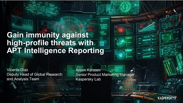 Gain immunity against high-profile threats with APT Intelligence Reporting