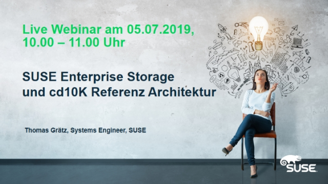 SUSE Enterprise Storage und cd10K Referenz Architektur