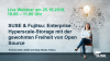 SUSE & Fujitsu: Enterprise Hyperscale-Storage mit der Freiheit von Open Source