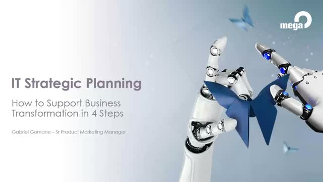 IT Strategic Planning: 4 steps to Support Business Transformation