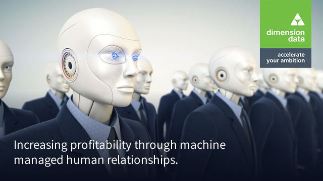 Increasing profitability through machine managed human relationships 2019