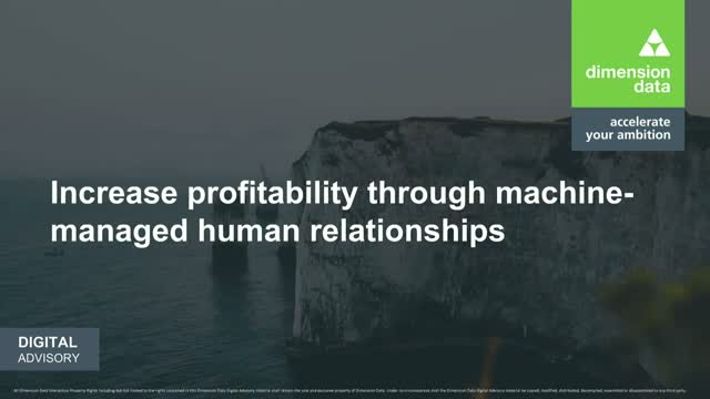 Increase Profitability Through Machine-Managed Human Relationships