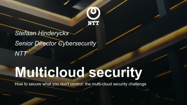 How to secure what you don't control: the multi-cloud security challenge
