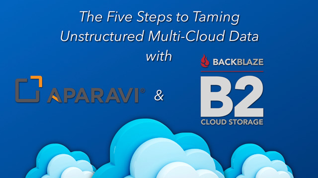 The Five Steps to Taming Unstructured Multi-Cloud Data
