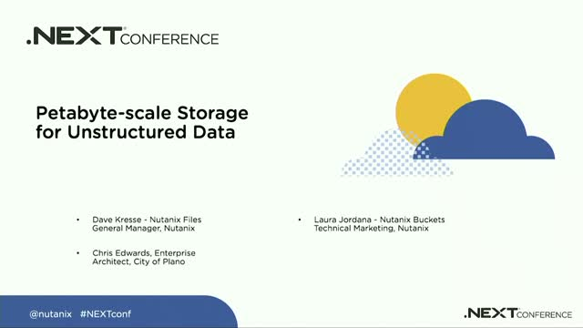 Exploring Petabyte-scale Storage for Unstructured Data