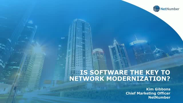 Is Software the Key to Network Modernization?