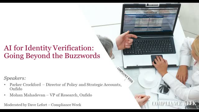 AI for Identity Verification: Going Beyond the Buzzwords