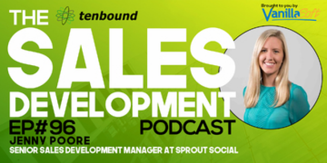Jenny Poore - Building a Team of Sales Development Winners