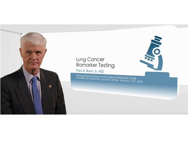 Lung Cancer Biomarker Testing