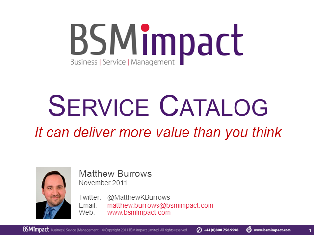 Service Catalog: It Can Deliver More Value Than You Think