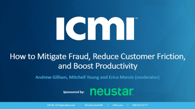How to Mitigate Fraud, Reduce Customer Friction, and Boost Productivity
