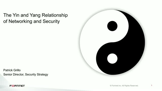 The Yin and Yang Relationship of Networking and Security