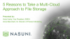 5 Reasons to Take a Multi-Cloud Approach to File Storage