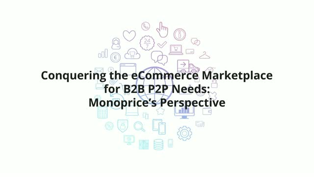 Conquering the eCommerce Marketplace for B2B P2P Needs: Monoprice's perspective