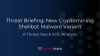 Threat Briefing: New Cryptomining Shellbot Malware Variant