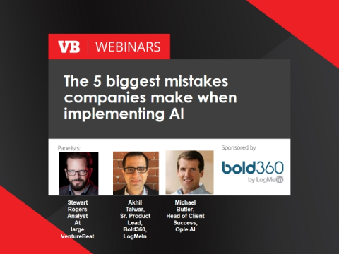 The 5 biggest mistakes companies make when implementing AI