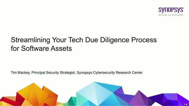 Streamlining Your Tech Due Diligence Process for Software Assets