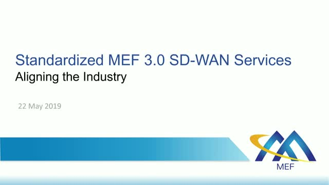 SD-WAN Service Growth and Automation through Industry Alignment
