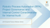 RPA – Project Governance and Internal Control Considerations for Internal Audit