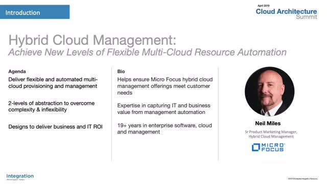 Hybrid Cloud Management: Achieve New Levels of Multi-Cloud Resource Automation