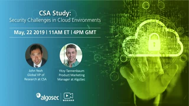 CSA Study: Security Challenges in Cloud Environments