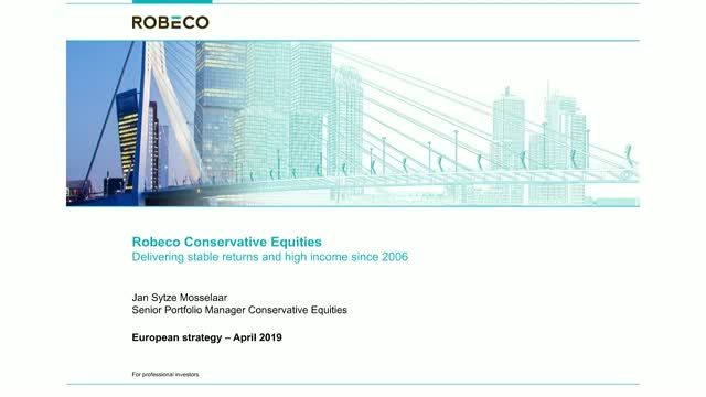 Robeco European Conservative Equities: downside protection & stable income