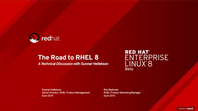 The tenets of RHEL 8 Beta: Architecture, use cases, & more
