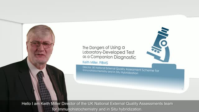 The Dangers of Using a Laboratory-Developed Test as a Companion Diagnostic