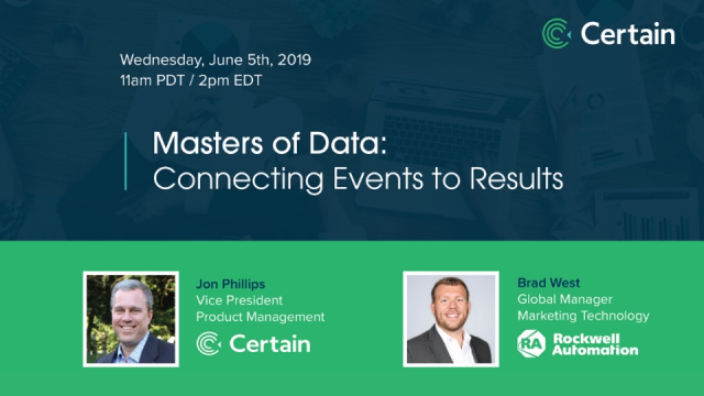 Masters of Data: Connecting Events to Results