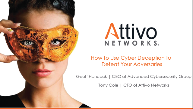 How to Use Deception to Defeat Your Adversaries