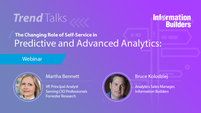 Trend Talks: The changing role of self-service in PA and Advanced Analytics